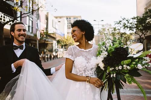 Wedding makeup for dark skin tones
